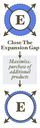 Close the Expansion Gap